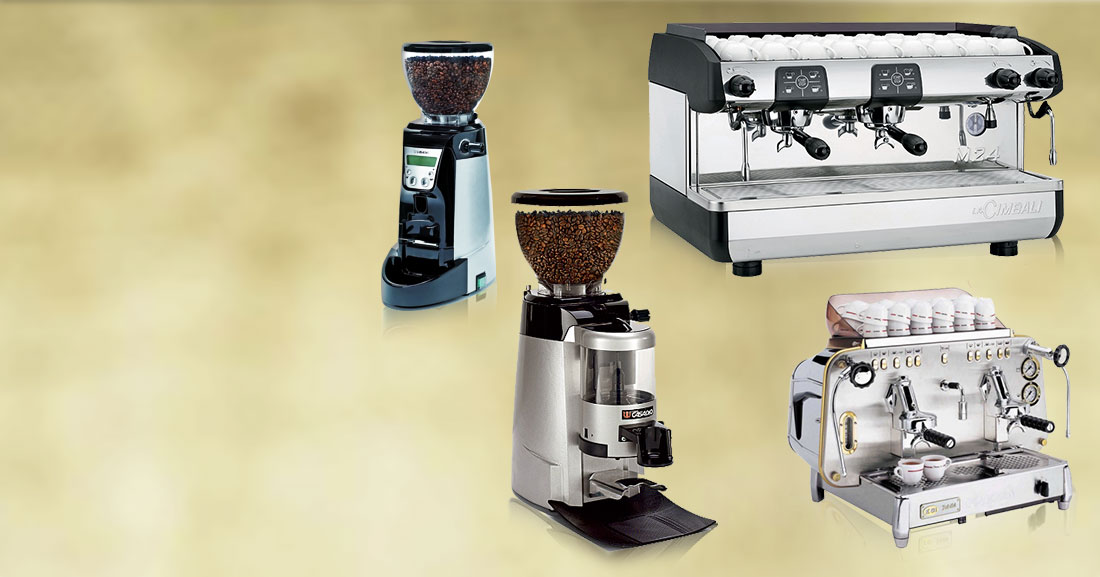 Espresso Machines & Coffee Grinders