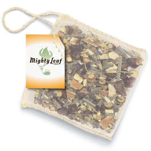 Mighty Leaf Tea Known For Its Silken Pouches Is Filled With The Worlds Finest Flavor Of Leaves Fruits And Herbs It Not Your Ordinary Cup